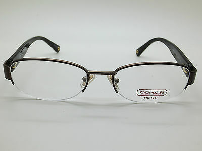 a192f2d8b2 NEW Authentic COACH HC 5030 Betsy 9076 Satin Brown 52mm RX Eyeglasses
