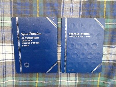 Buffalo Nickel 1913-1938 One Book And Type Collection Of The 20Th Century One Bk