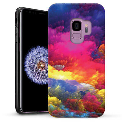 Colorful Cloud Dual Layer heavy duty Case Cover For Samsung Galaxy A8 2018