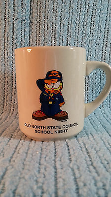 Vintage Boy Scout Coffee Cup-Mug-Garfield-Old North State Council School Night