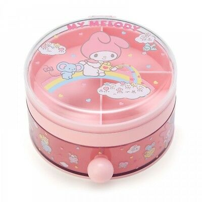 New Sanrio My Melody Round Accessory Case from Japan F/S