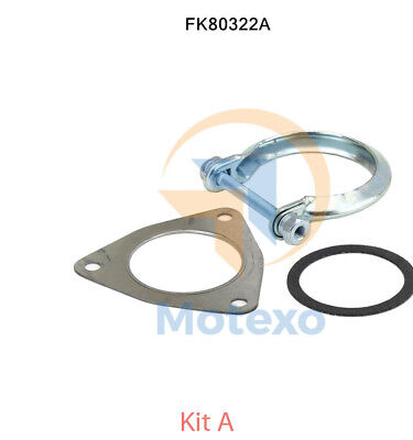 Car Parts DACIA DUSTER 1.5D Exhaust Fitting Kit Centre 2010 on 6482068RMP BM Quality New