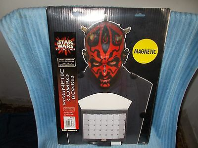 Star Wars Episode 1 2000 Darth Maul Calendar Magnetic Combo Board