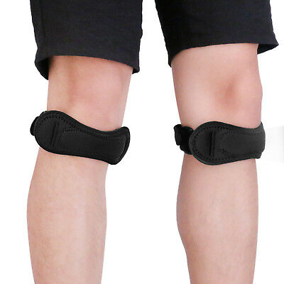 Adjustable Knee Brace Strap Patella Support Relieve Pain Sports Running Soccer