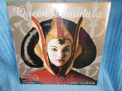 Star Wars Episode 1 2000  Queen Amidala  Calendar