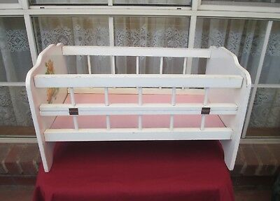 Old Dolls Cot With Hinged Drop Side
