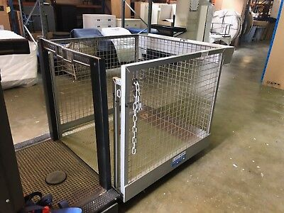 FORKLIFT CAGE- Steel in excellent condition