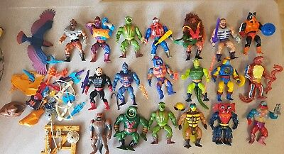 Masters of the universe vintage lot
