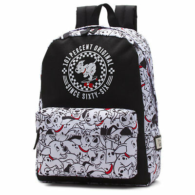 VANS x DISNEY DALMATIANS BLACK/WHITE BACKPACK 100% AUTHENTIC BRAND NEW w/TAG!!