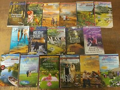 Lot of 51 Love Inspired Christian Suspense Romance Popular PB Books MIX UNSORTED