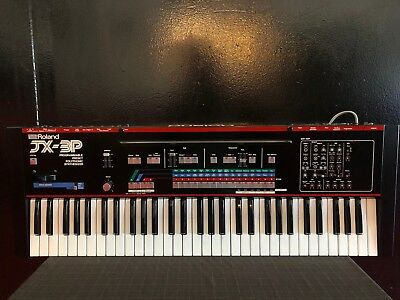 Roland JX-3P JX3P Vintage Polyphonic Analogue Synthesiser Synth Serviced 240V