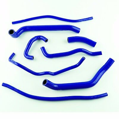 For Triumph 675 Daytona 2006-2012 High Performance Silicone Radiator Hose Blue