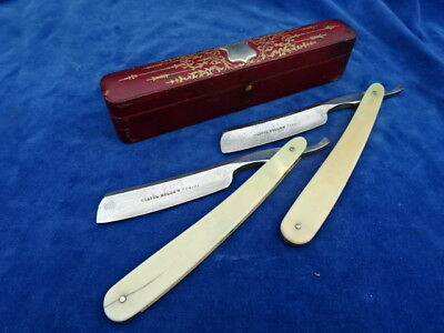 RASOIR - COUPE-CHOUX / Straight razor - WELLINGTON SUTTON-CUTTER - RARE++++ !