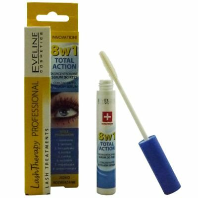 Eveline Cosmetics Lash Therapy 8in1 Total Action 10 ml Eye Lashes Wimpernserum