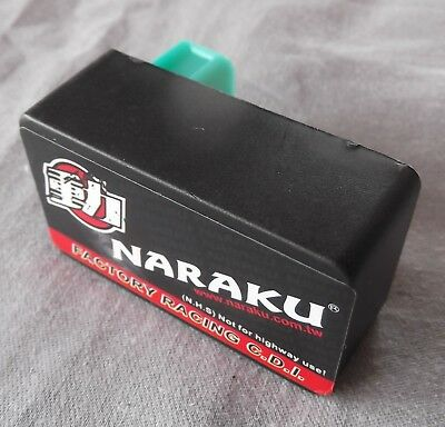 Naraku High Performance No Rev Limit CDI Ignition Unit Baotian Jonway 700.02.43