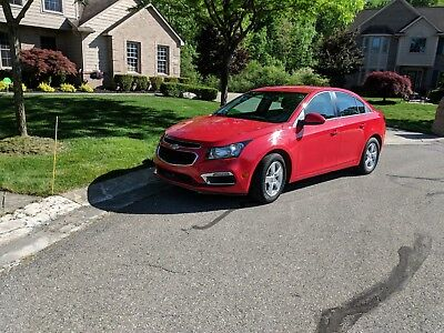 2016 Chevrolet Cruze LT limited 2016 Chevrolet Cruze LT Limited Extremely Low Miles