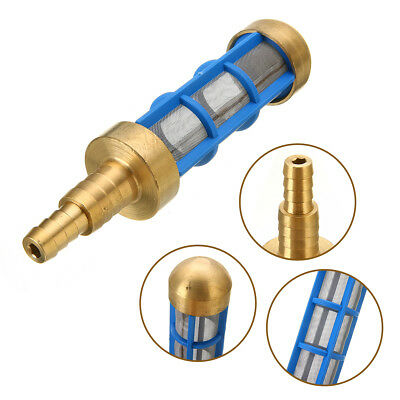 """New Brass HD 3/4"""" 1/2"""" Hose Water Suction Strainer Pickup Filter Pressure Washer"""