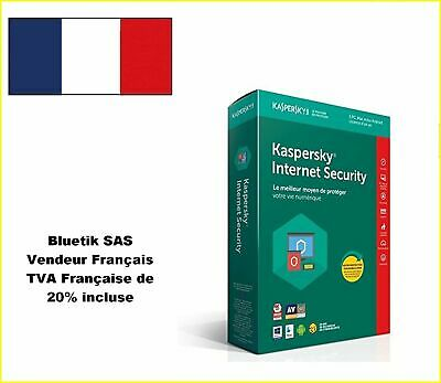 Kaspersky Internet Security 2018 - 5 Appareils- 1An, PC, Mac,Android, iOS -BOITE