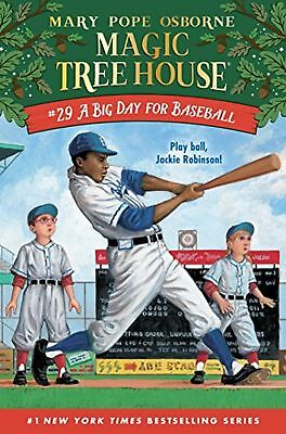 A Big Day for Baseball (Magic Tree House) New