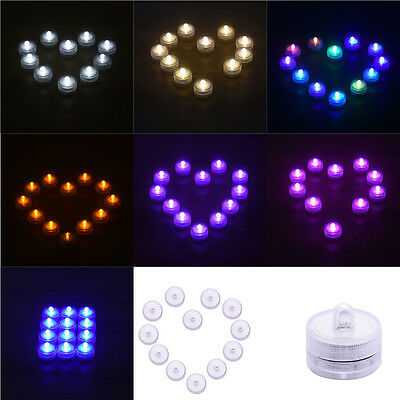 LED Tea Lights Electronic Tea Candle Flameless Flickering Battery Wedding Vase
