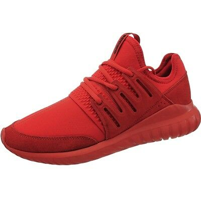 Adidas Tubular Radial red men s lifestyle low-top sneakers air mesh suede  NEW bdc0730a4337