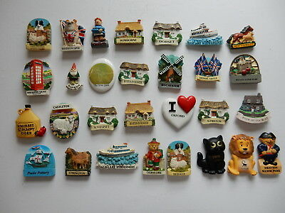 One Selected 3D Souvenir Fridge Magnet from Around the UK