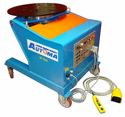 Automa Welding Turntable Positioner Powered tilt 900mm table 1000KG £6,000 + VAT
