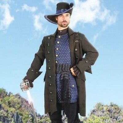Blackbeard's Pirate Coat, Ideal for Stage, Costume and Re-enactment or LARP