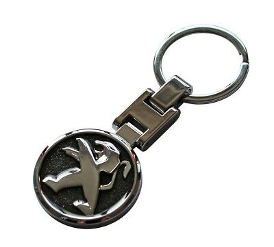 Automobilia Peugeot 3008 Dkr Dakar Rally Key Ring Key Fob Chain New Genuine 16ldkr301