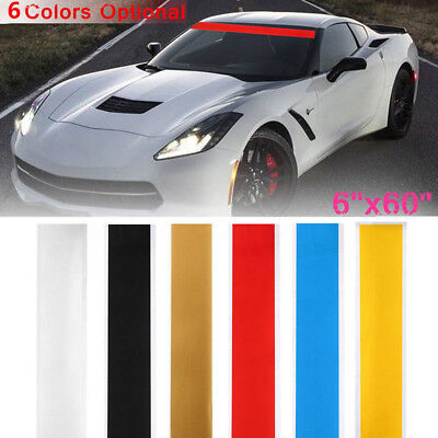 "Sun Strip Visor Sticker Premium Vinyl Decal Car Windshield Banner Cast 60x6"" Hot"