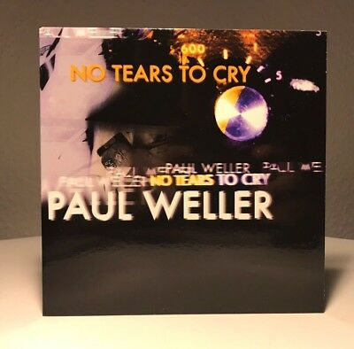Paul Weller - No Tears To Cry / 7'' Vinyl Limited And Numbered Single