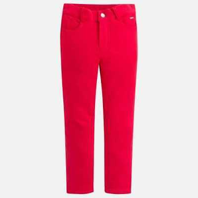 mayoral Pantalone Casual Bambini Rosso 555-088