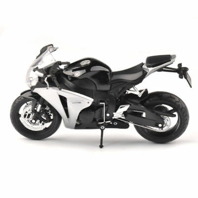 1/12 Honda CBR 1000RR Black Diecast Racing Autobike Motorcycles Model Collection