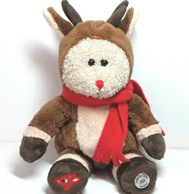 Starbucks Coffee plush soft toy Christmas Rudolph the Red nosed reindeer 2003