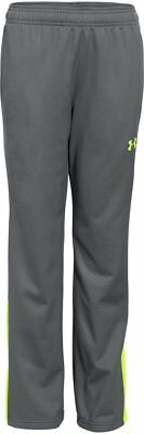 Under Armour UA Kid's Brawler Warm-Up Trousers - 9 -10 Years - Grey - New