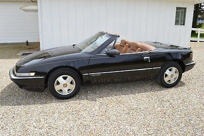 1990 Buick Reatta  1990 Buick Reatta Convertible Black 43K Miles Beautiful Rare
