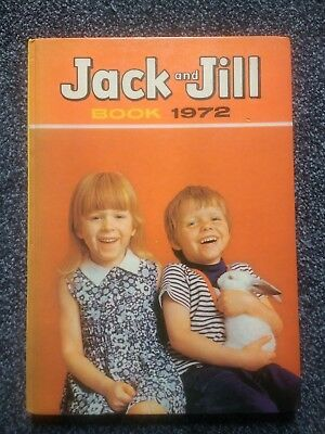 Jack And Jill Book 1972 Annual