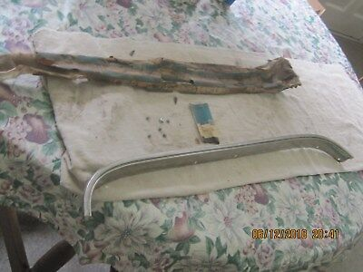 Nos 1969 Buick Skylark, Gran Sport Left Rear Wheel Well Moulding-Part 7795317