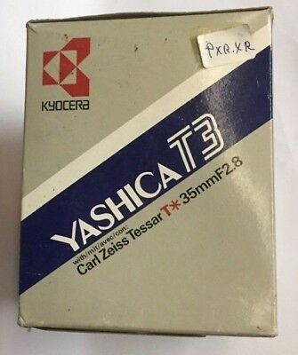 Yashica T3 Carl Zeiss T* Tessar 2.8 35MM-brand new in box!!!