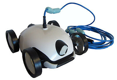 Deluxe Automatic Robotic Floor Cleaner for Above-Ground Swimming Pool