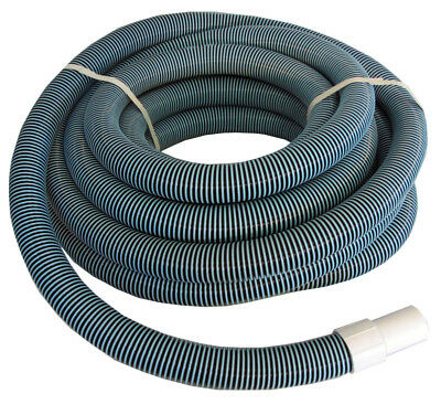 """Swimming Pool Commercial Grade Vacuum Hose 1.5"""" - 50' length with Swivel End"""
