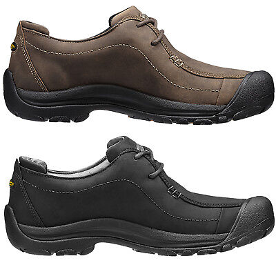 NEW MENS KEEN Portsmouth Ii Leather Lace Up Wide Fit Shoes -  146.24 ... b8fd7fbd7d2