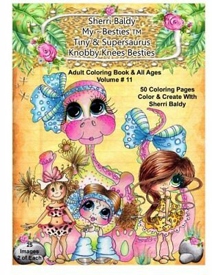 Signed Coloring Book Sherri Baldy My Besties Little Dimples 995
