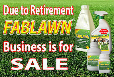 DUE TO RETIREMENT entire FABLAWN Business is now FOR SALE