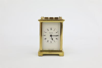 Vintage Bayard 8 Day Brass Carriage Clock Hand-Wind Duverdrey & Bloquel 652g
