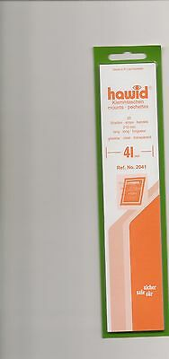 HAWID MOUNTS 41 mm strips clear pack of 25