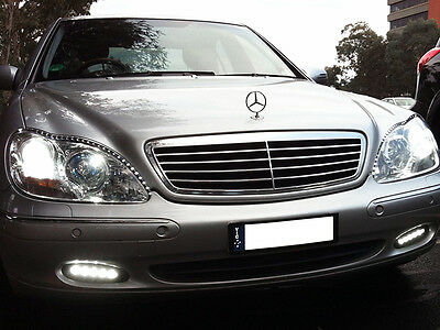 LED DRL DAYTIME Running Light For Mercedes Benz S-Class W220
