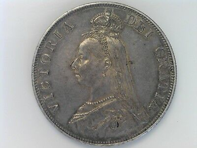 Great Britain Double Florin, 1889 - Silver