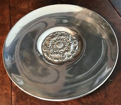 "Reed and Barton Sterling Silver Charger Plate Dish X436  9 5/8""  302.4g. 1937"