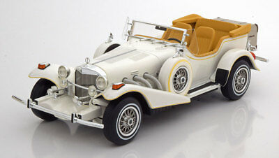 1977 EXCALIBUR Series III Phaeton White LE of 300 1/18 Scale. New Release!